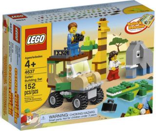 Lego Bricks & More Safari Building Set #4637