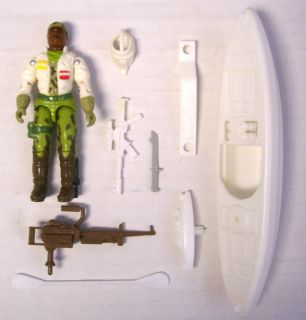 GI Joe Stalker Complete Loose Action Figure/Tundra/​Kayak/Cobra/19
