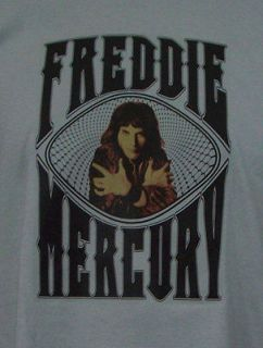 QUEEN custom new T SHIRT freddie mercury glam rock all sizes S M L XL