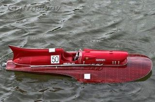 Ferrari Hydroplane 31.5in model boat   RC convertible
