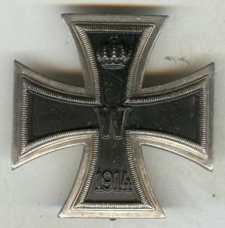german iron cross 1914 in Medals, Pins & Ribbons
