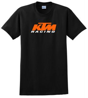KTM RACING YOUTH CHILD T SHIRT BLACK MX MOTOCROSS DIRT BIKE ATV QUAD