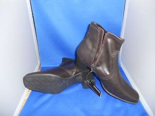 Womens Ankle High Boots by GEORGE Dark Brown SZ 11