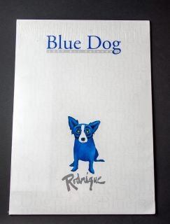 George Rodrigue Blue Dog 1997 Art Calendar, Never Opened, Sealed