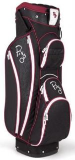 Ping Faith Golf Cart Bag Black Wine Berry Color Ladies New Retail $170