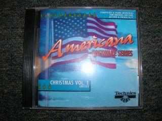 Technics Keyboard & Piano Americana Software – Christmas Vol. 1