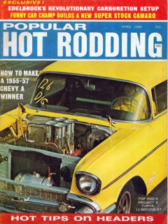 HOT RODDING April FORD 428 Cobra Jet Mustang Torino 302 AMX JAVELIN