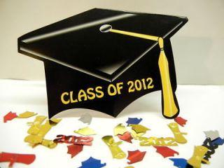 Lot of 12 Graduation Party Invitations Invite w envelopes Cap Class of