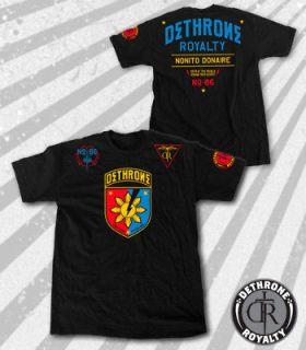Dethrone Royalty The Flash Black T shirt MMA