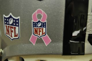Ribbon Breast Cancer Awareness Greenbay Packers Football Helmet Decal