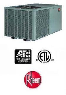 Rheem R410A Packaged Heat Pumps 14 SEER 3 Ton