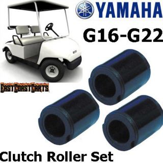 Yamaha Golf Cart G16 G22 Clutch Roller Set JN6 G6258