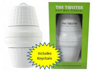 THE TWISTER Golf Ball Cleaner  As Seen on ABC Show SHARK TANK GIFT