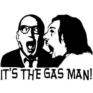 TRIBUTE TO CULT TV SHOW BOTTOM RICHIE EDDIE   ITS THE GAS MAN