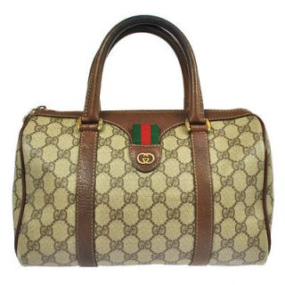 gucci brown leather bag in Handbags & Purses