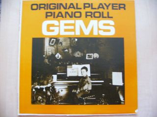 LP Original Player Piano Roll Gems Vol. 3 Vintage Vinyl Record