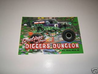 MONSTER JAM GRAVE DIGGER MONSTER TRUCK STICKERS DECALS