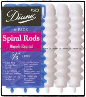 spiral perm rods in Rollers, Curlers