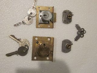 old locks for machines  side/front vender little duke wood back door