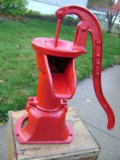 Collectible Refinished Cast Iron Antique Kitchen Water Pump~