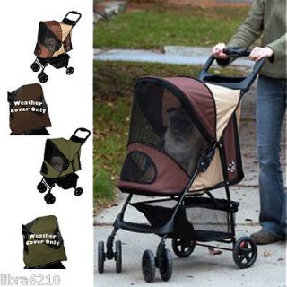 Pet Gear Happy Trails WITH Weather Cover Pet Dog Cat Stroller Medium