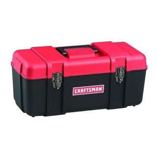 NEW CRAFTSMAN 20 Inch Hand Tool Box Chest With Tote Tray, FREE