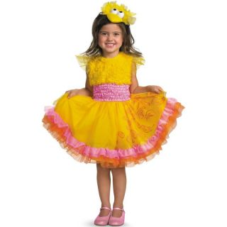 Sesame Street Frilly Big Bird Halloween Dress Up Pretend Play Costume