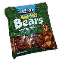 18 Lb Bag Black Forest Gummy Bears Gummi pounds bulk