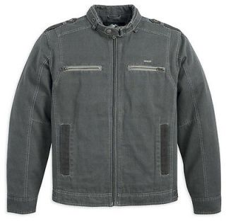 harley davidson cotton jacket in Clothing,