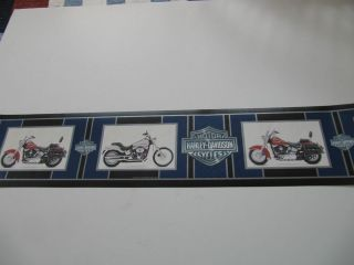 GENUINE HARLEY DAVIDSON WALL BORDER NEW IN THE PACKAGE