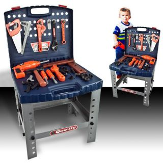 Tools Playset Workshop Box My First Educational Boys Toy Kids Pretend