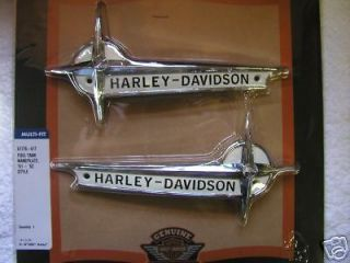 harley gas tank emblems in Motorcycle Parts