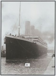 Original TITANIC WOOD & COAL 1912 wreckage RMS White Star Line