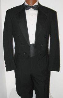 Black Halloween Costume Theatrical Dracula Bargain Cheap Tuxedo