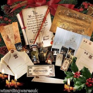 Harry Potter Chtistmas MONSTER Package!!!! Marauders Map, Yule