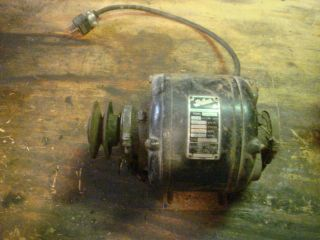ANTIQUE PACKARD GENERAL ELECTRIC MOTOR 115 1/6 HP 1750 RPM VINTAGE