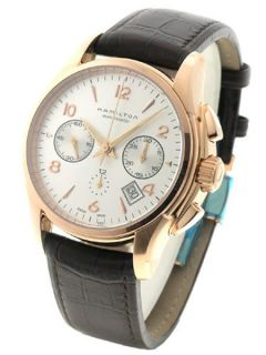 hamilton rose gold watch