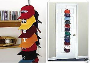 36 Baseball Cap Rack Hat Holder Storage Display Hanger Perfect Curve