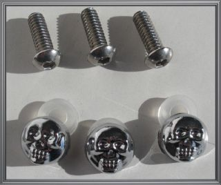 harley chrome bolt caps in Accessories