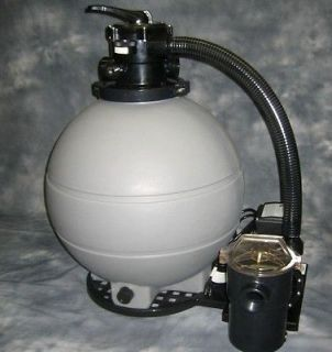 HP   2 SPEED Swimming POOL FILTER & PUMP 22 Sand Tank System