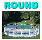 30ft ROUND Above Ground 52H Swimming Pool & Package + Liner, Pump