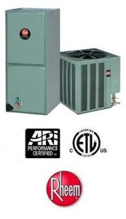 Ton 15 Seer Rheem Heat Pump System   15PJL60A01   RHLLHM6024JA