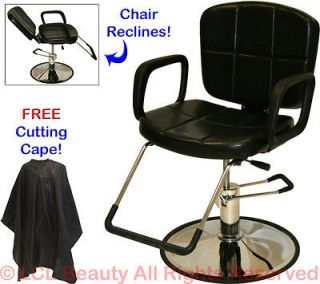 RECLINING SHAMPOO ALL PURPOSE HYDRAULIC BARBER CHAIR HAIR BEAUTY SALON
