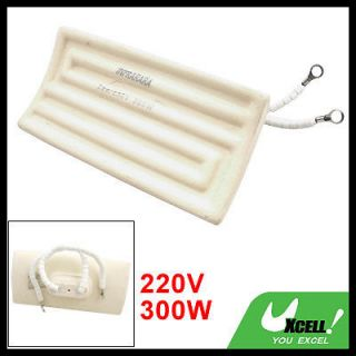 300W 220V 120 x 60mm Heating Element Ceramic Infrared Heater Panel New