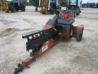 2005 DITCH WITCH 1820 WALK BEHIND TRENCHER 3 4 DIG GAS REAR WHEEL