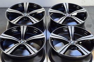18 5x120 Polished Black Wheels BMW 323 325 335 128 135 330 318 Z3