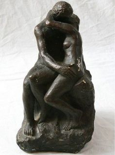 Austin Productions Vintage Sculpture Man & Woman Couple Lovers