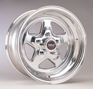 Weld Racing Wheel Prostar Aluminum Polished 15x4 5x4.5 BC 1.875