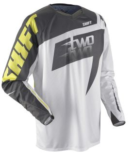 Two Two Motorsports Jersey White/Yellow Adult Sizes Chad Reed Replica