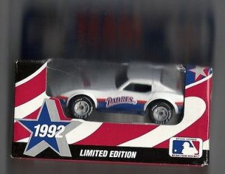 MATCHBOX. 1992 San Diego Padres. 1979 Corvette. New in Box!